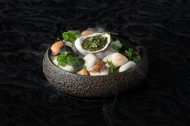 Canapés oyster