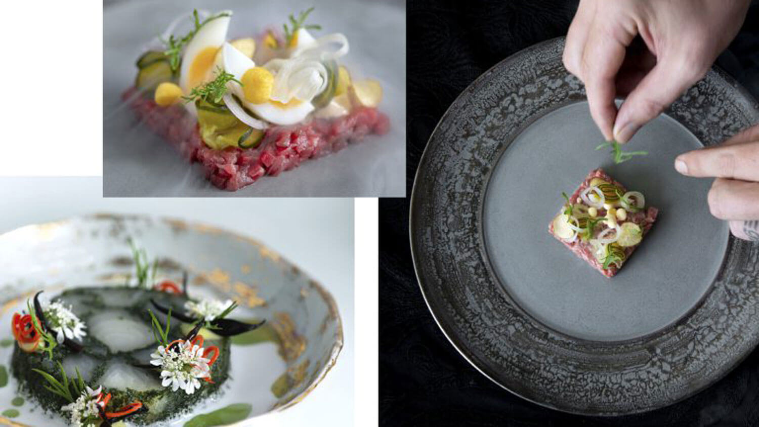 Belgian chef Nic Vanderbeeken uses local produce as much as he can in the fine dishes turned out at Aperitif.