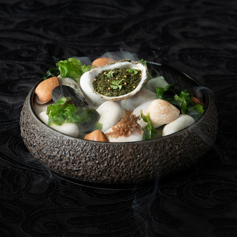 Canapes-Oyster
