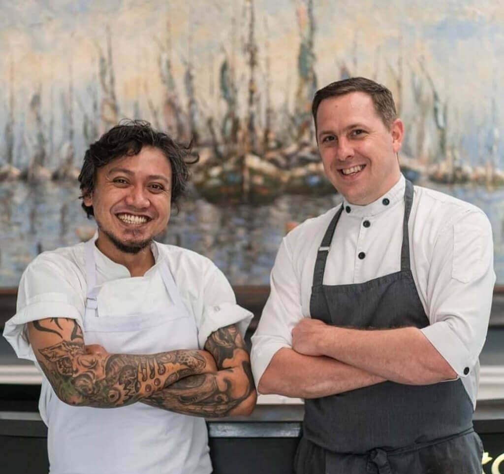 Aperitif Bali Chef Maxie Millian Chef Nic Vanderbeeken