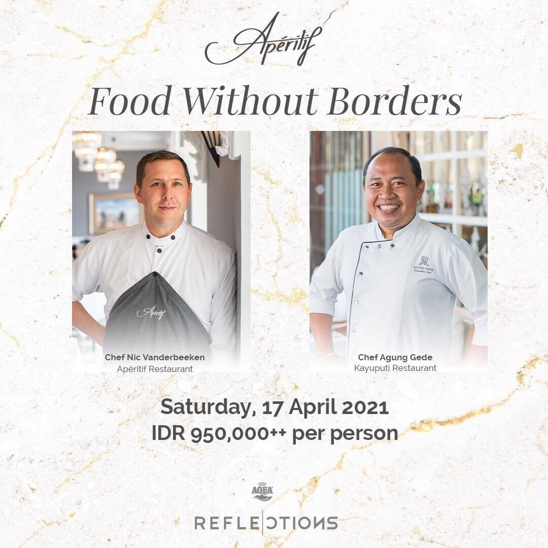 Aperitif Restaurant Bar Ubud Best Fine Dining Chefs Event Kayu Putih