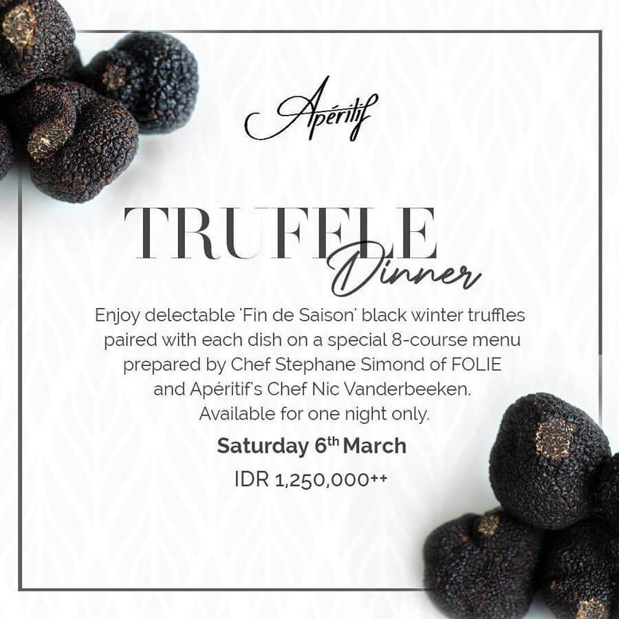 Apéritif Truffle Dinner