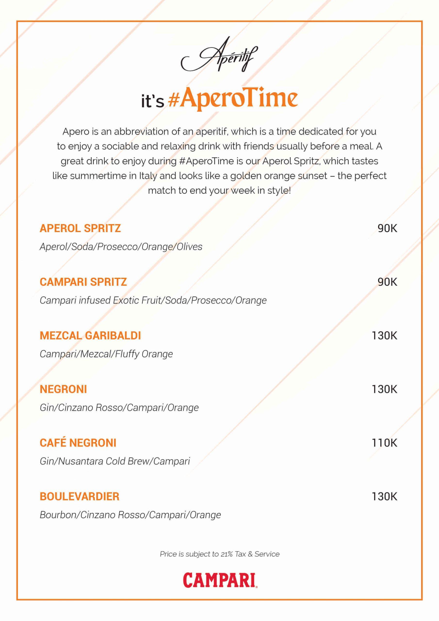 #AperoTime at Apéritif